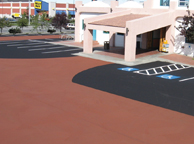 asphalt sealant fpor parking lot