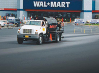 asphalt sealant for walmart parking lot