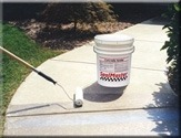Concrete Sealer and Concrete Patch