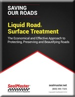 Pavement preservation treatment with Liquid Road