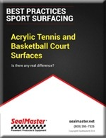 Acrylic Tennis and Basketball Courts Surfaces